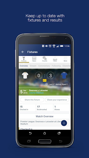Fan App for Leicester City