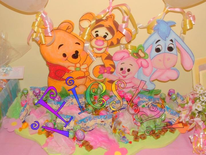 Decoraci n de fiestas de winnie pooh beb imagui for Decoracion winnie pooh para fiesta infantil