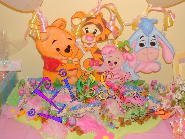 Decoración de fiestas infantiles Winnie Pooh baby - Imagui
