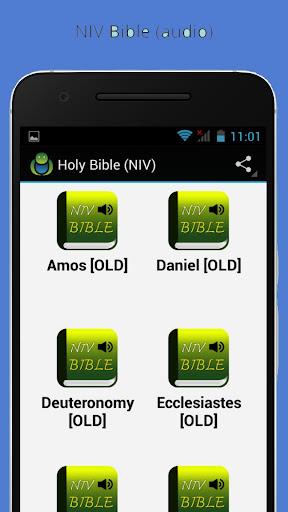Holy Bible NIV (audio)|玩程式庫與試用程式App免費|玩APPs