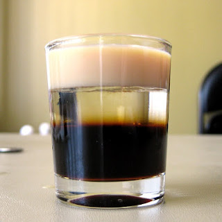 Alcoholic Cocktail BBC with Baileys Liqueur Recipe