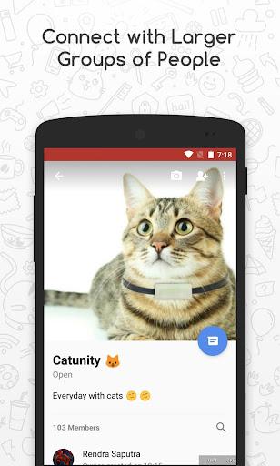Catfiz Messenger 2.5.0 screenshots 3