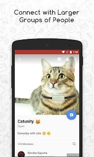 Catfiz Messenger - náhled