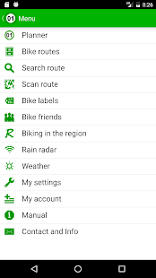 Fietsknoop bike your own route- screenshot thumbnail