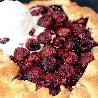 DAPHNE OZ Cherry Crostata.