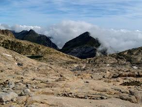 Photo: Verso il Tuc de Mulleres, su colossali placche di granito levigate dal tempo e dai ghiacci.