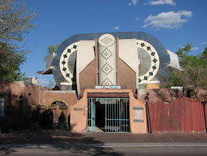 Photo: Casas de Suenos B&B in ABQ, built and enhanced by an artist in the 1930s, was the hit of our trip.
