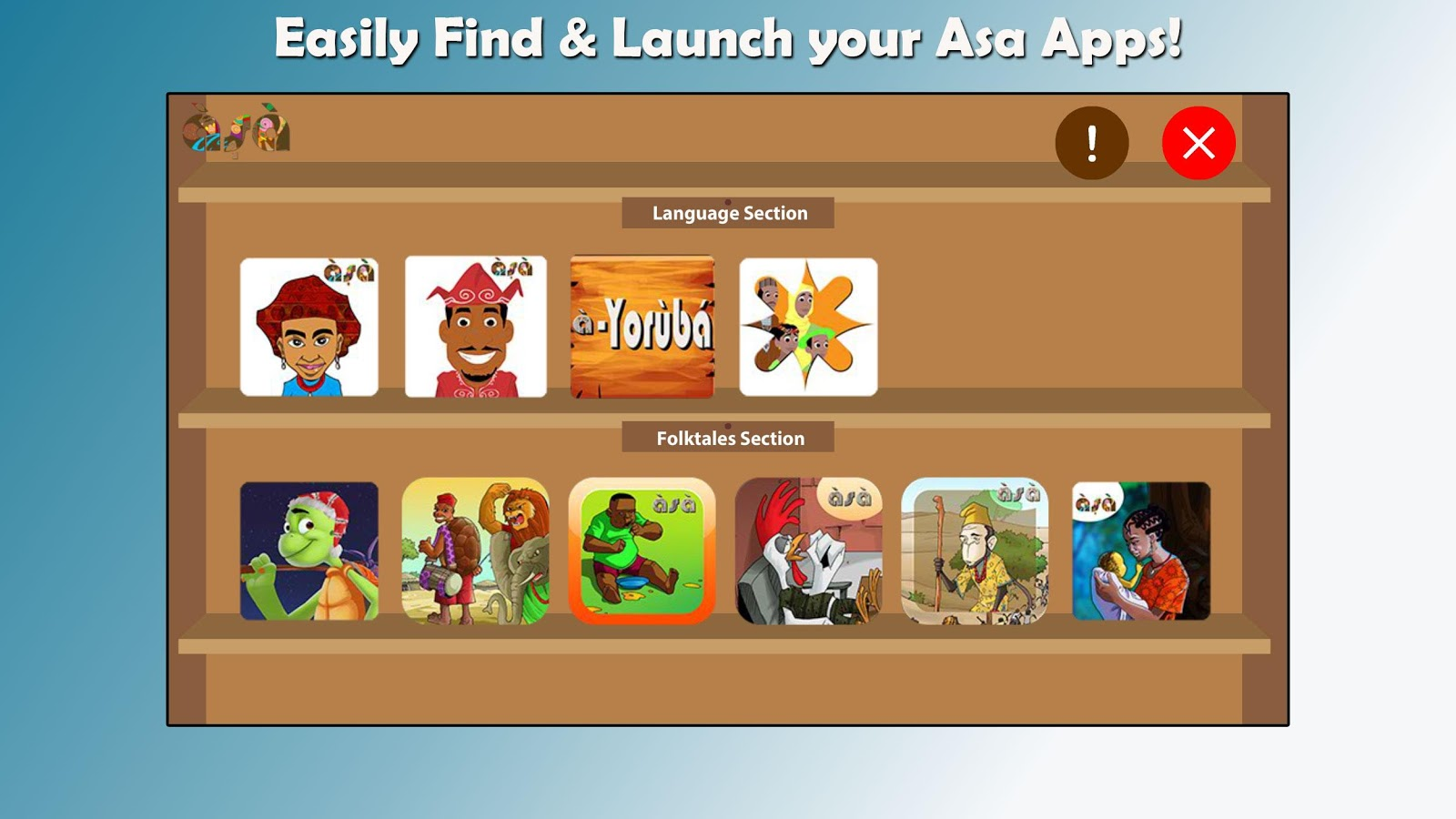 Asa Appshelf- screenshot
