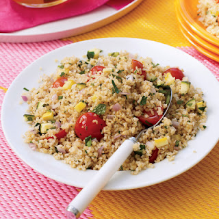 Chunky Vegetable-Bulgur Salad.