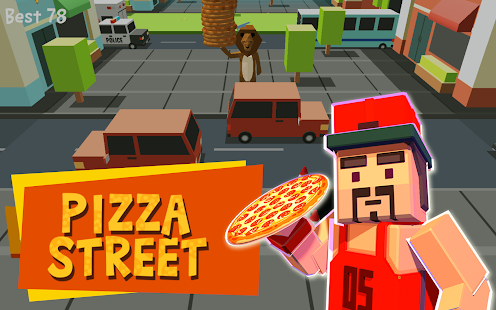 Pizza Street - Deliver pizza!- screenshot thumbnail