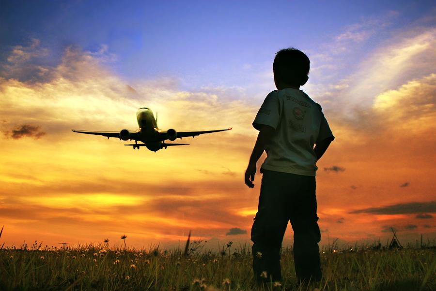 Nonton Pesawat by 3 Joko - Babies & Children Children Candids