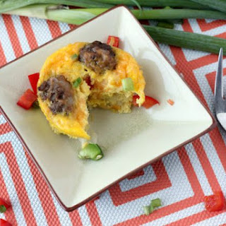Easy Mini Sausage Egg & Veggie Omelettes Recipe