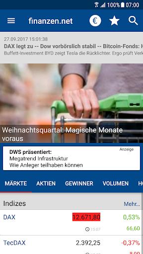 Börse & Aktien - finanzen.net  screenshots 1
