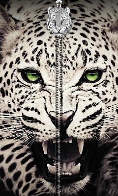 White Tiger Zipper UnLock - screenshot