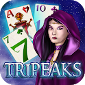 Fantasy Solitaire TriPeaks ♣  Free Card Game icon