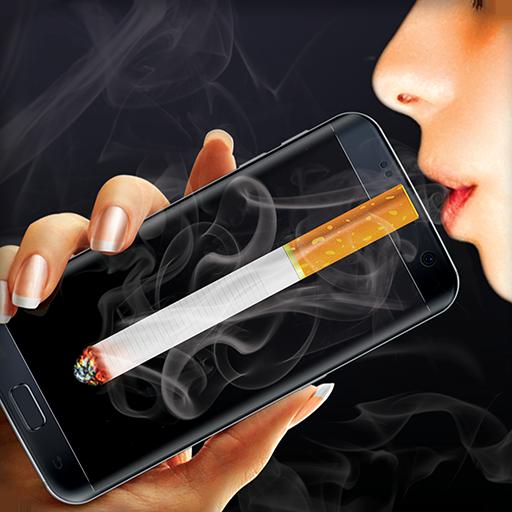 Smoking virtual cigarettes (game)