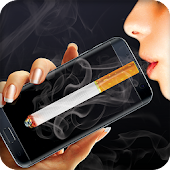 Smoking virtual cigarettes