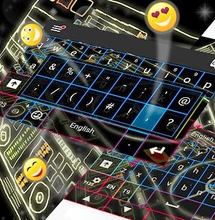 DJ Keyboard Theme - náhled