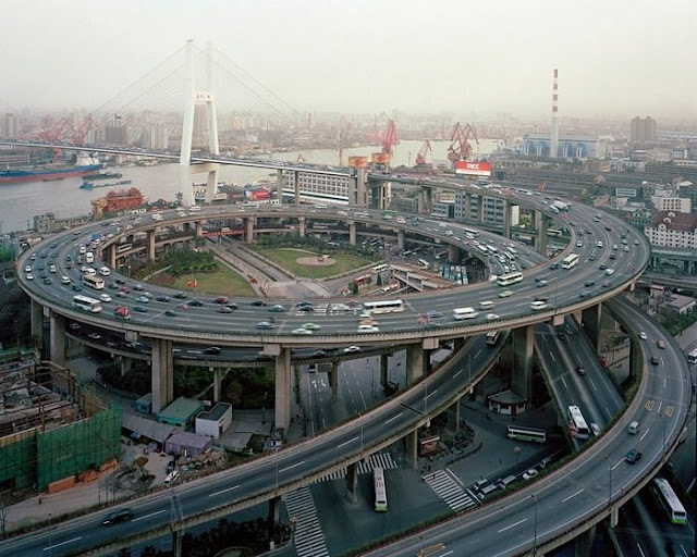 47 pics Worlds Worst Intersections & Traffic Jams
