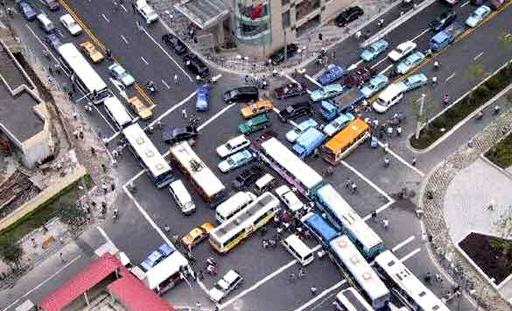 idiotparkingru 197 Worlds Worst Intersections & Traffic Jams