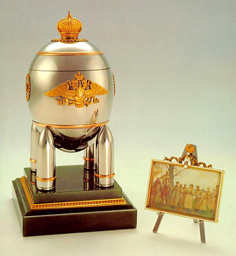 Russian Imperial Faberge Eggs
