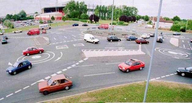 kreisverkehr 11 Worlds Worst Intersections & Traffic Jams