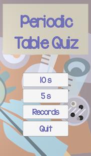 Tabla peridica quiz aplicaciones de android en google play tabla peridica quiz miniatura de captura de pantalla urtaz Images