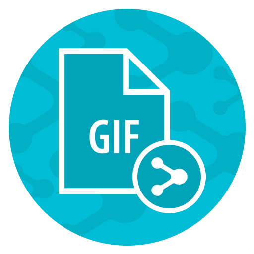 GIF Share for Instagram 遊戲 App LOGO-APP開箱王
