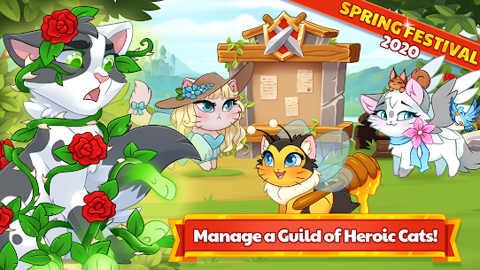 Castle Cats Idle Hero RPG 2.14.4 Mod (Free Shopping) 1