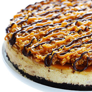 Samoa Cheesecake.