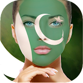 Face Flag Pakistan