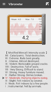 Vibration Meter- screenshot thumbnail
