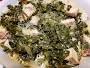 Kale with Baked Tofu and Coconut Milk