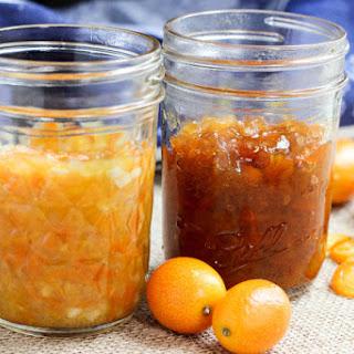 Sweet and Savory Kumquat Marmalade
