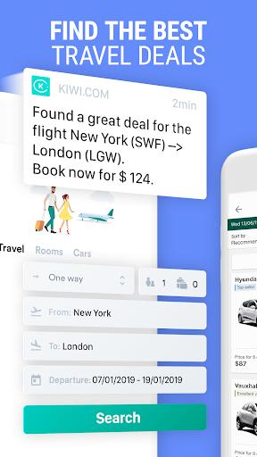 Kiwi.com: Best travel deals: flights, hotels, cars  screenshots 2