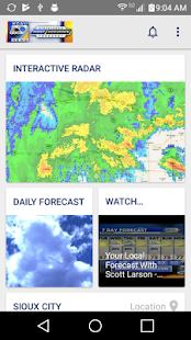 KCAU 9 Weather Siouxland- screenshot thumbnail