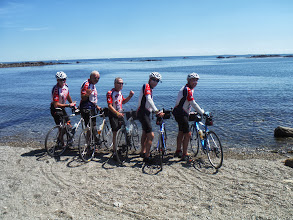 Photo: 20130812 Day 55 Manchester NH to Portsmouth NH Ceremonial dipping of the tire in the Atlantic
