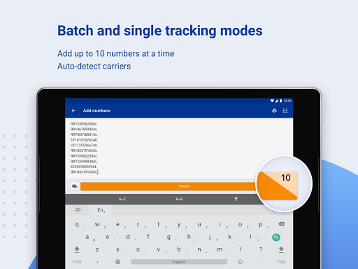 ALL-IN-ONE PACKAGE TRACKING screenshot 14
