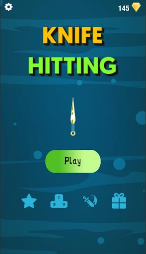 Knife Hitting : Throw Knife Hit Target apktram screenshots 1