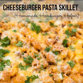 Cheeseburger Pasta Skillet