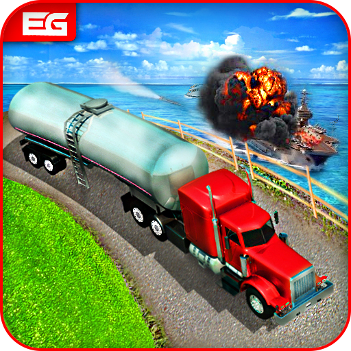 Oil Tanker Transporter : Supply Truck