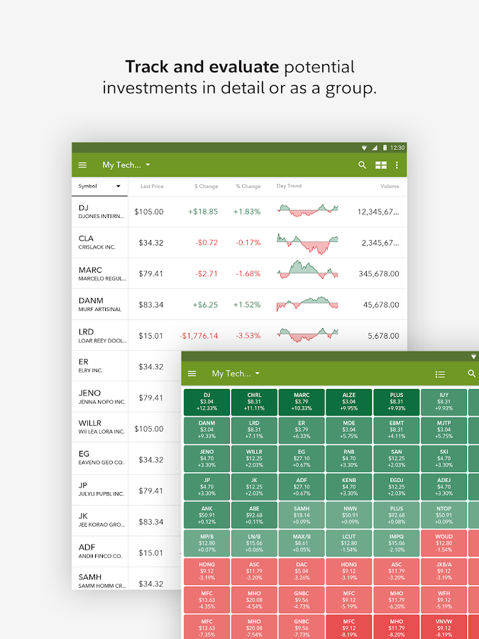 Fidelity Investments- screenshot