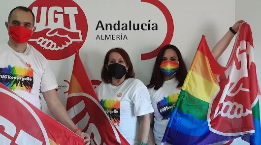 UGT Almería denuncia la situación laboral del colectivo LGTBI