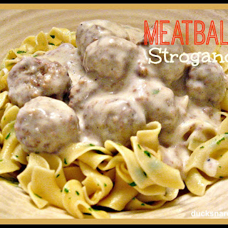 Meatball Stroganoff With Cream Of Mushroom Soup Recipes