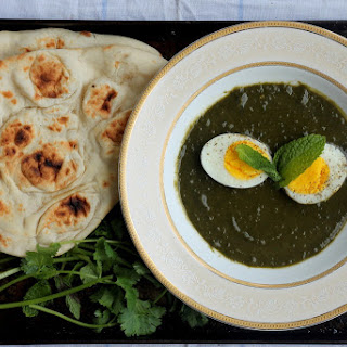 Green Masala Egg Curry