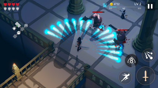 Télécharger Restless Dungeon - Roguelike Hack 'n' Slash apk mod screenshots 5