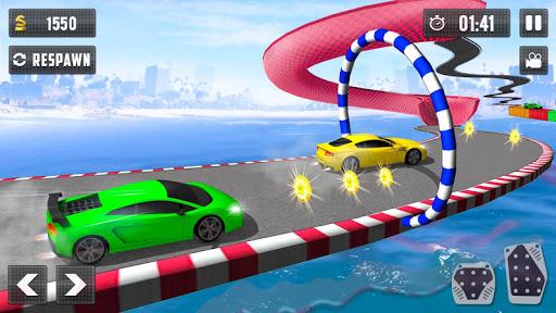 Crazy Car Driving Simulator: Impossible Sky Tracks 1.0 screenshots 2