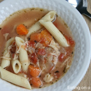 Crockpot Italian Chicken Soup