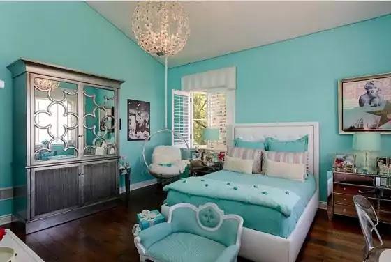 warna cat kamar tidur tosca