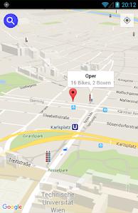 Citybike Vienna screenshot 2
